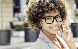 afro - amerykanów bizneswomanu young Zdjęcie Stock