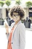afro - amerykanów bizneswomanu young Obraz Stock