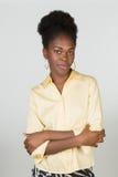 afro - amerykanów bizneswomanu young Obrazy Royalty Free