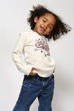 afro - amerykanów dziecko Obraz Royalty Free