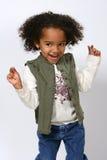 afro - amerykanów dziecko Obrazy Stock