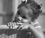 afro - amerykanów dziecko young Zdjęcia Stock