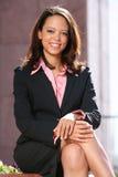 afro - amerykanów szczęśliwy ucznia Zdjęcia Royalty Free