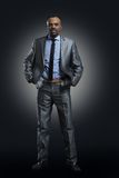 Afro Amerykanina biznesmen Fotografia Royalty Free