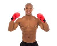 Afro amerykanina bodybuilder Obrazy Royalty Free