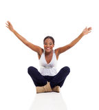 Afro amerykanina kobieta Zdjęcie Stock