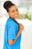 Afro amerykanina lekarka Zdjęcie Stock