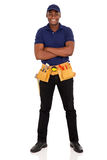 Afro amerykanina repairman Obraz Stock