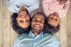 Afro amerykanina rodzina Obraz Stock