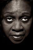 afro amerykanka Fotografia Royalty Free