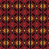 Afro Ankara Geometryczny wzór Obraz Royalty Free