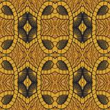 Afro Ankara wzór royalty ilustracja
