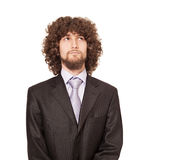 Afro business Royalty Free Stock Photo