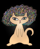 Afro Cat Stock Photography