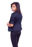 Afro dziewczyny Amerykański portret Zdjęcie Royalty Free
