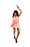 Afro dziewczyny taniec. Obraz Royalty Free
