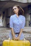 afro egyptiskt flickasmink Arkivfoto