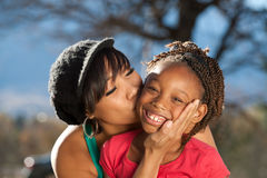 Afro Family Stock Photography