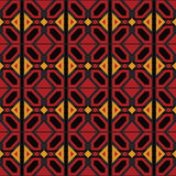 Afro Geometric Ankara Pattern royalty free stock image