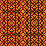 Afro Geometric Ankara Pattern royalty free stock photos