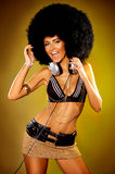 Afro Girl Stock Photo