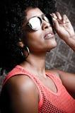 Afro girl Stock Photo