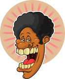 Afro Guy. This is an image of a black male wearing an Afro Hair Style Stock Image