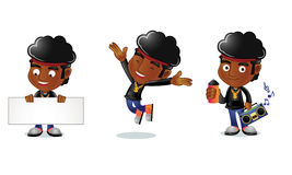 Afro Guy 1 Royalty Free Stock Images