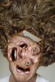 Afro Kędzierzawy włosy Obrazy Stock