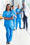Afro kobiety amerykańska lekarka Zdjęcia Royalty Free