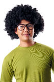 Afro male portrait royalty free stock photos
