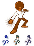 Afro Man Stock Image