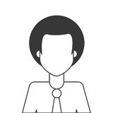 Afro people person icon avatar man Stock Photos