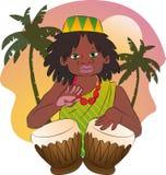 Afro slaat Stock Afbeelding