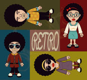 Afro style design Royalty Free Stock Photo