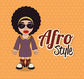 Afro style design Royalty Free Stock Photos
