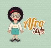 Afro style design Stock Photo