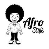 Afro style design Royalty Free Stock Photography