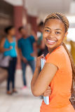 Afro university student Stock Photography