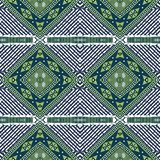 Afro Ankara ketinge Pattern royalty free stock photo