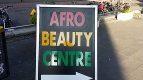 Afro znak zdjęcia royalty free