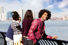 Afroamericano Fotografie Stock