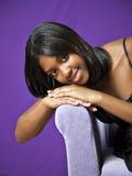 Afroamericano adolescente Imagenes de archivo