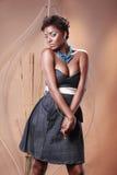 Afroamericano de moda Imágenes de archivo libres de regalías