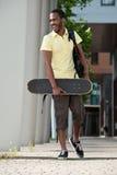 Afroamericano di divertimento Fotografie Stock