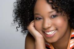 Afroamericano grazioso Fotografia Stock