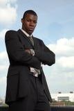 Afroamericano professionale Fotografia Stock Libera da Diritti