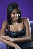 Afroamericano teenager Immagini Stock Libere da Diritti