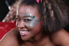 Afroamerikaner-Frau Stockfotos