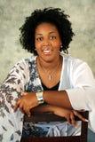 Afroamerikaner-Frau Stockfoto